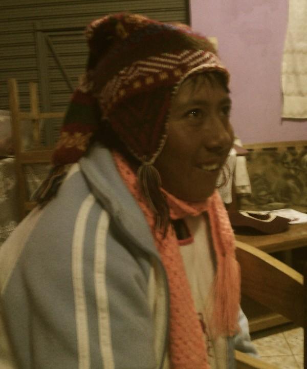 Feli: Sie spricht nur Quechua