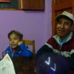 Luis Fernando mit seinem Vater Manuel