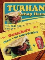 Wir danken Turhan für zwei Gutscheine im Wert von 5,00 €